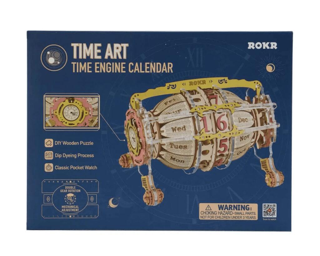ROKR Wooden 3d Puzzle Time art