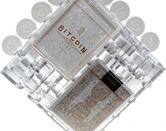 Bitcoin Puzzle with 2 Playing Card Decks