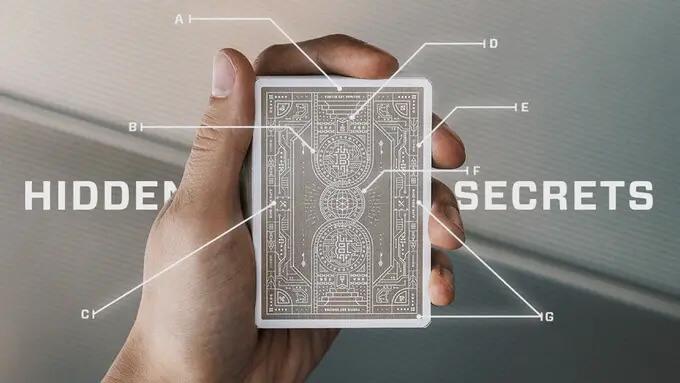 Bitcoin Puzzle Card Explain
