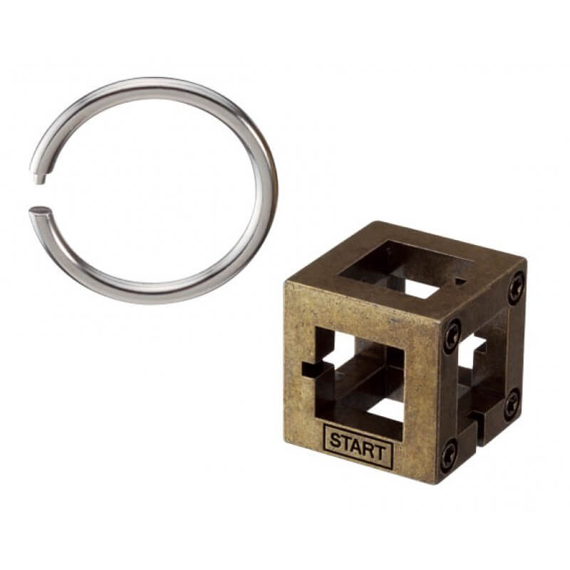 Cast Box Puzzle by Hanayama Solution