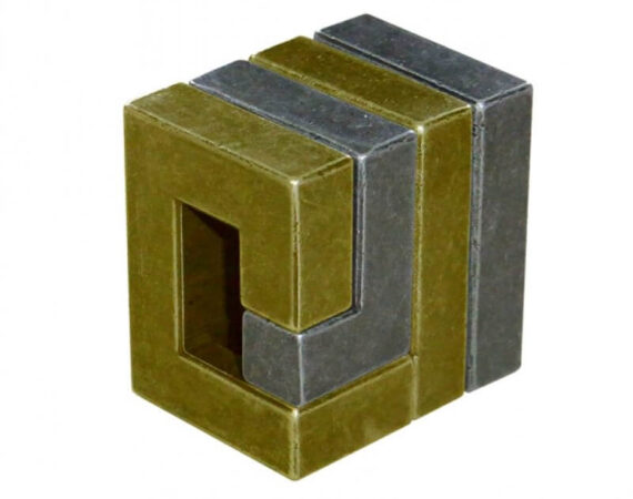 Cast Coil Metal Puzzle by Hanayama How to assemble