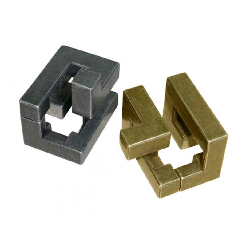 Cast Coil Metal Puzzle by Hanayama Solution