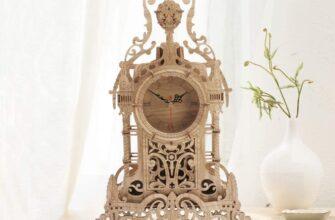 Amy & Benton Tower Desk Clock Wooden 3D Puzzle DIY