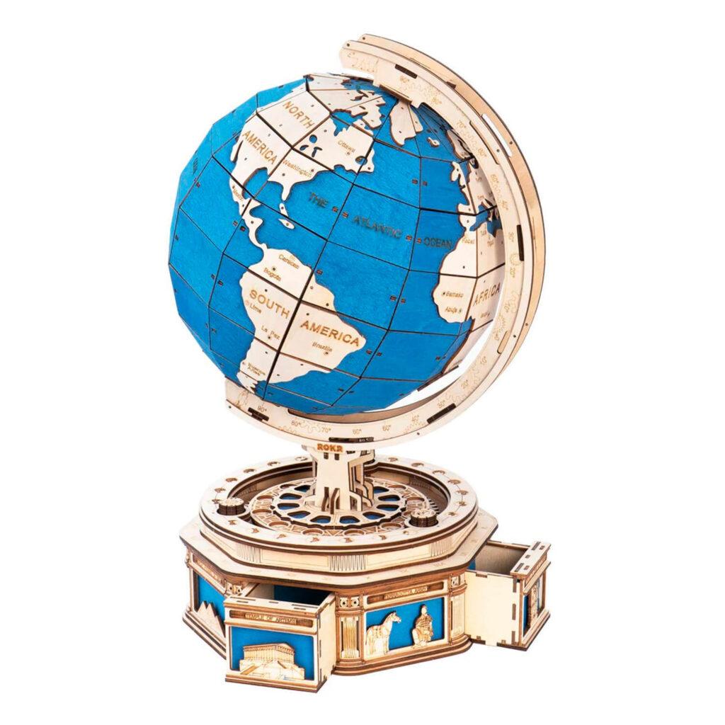 ROKR Globe 3D Wooden Puzzle