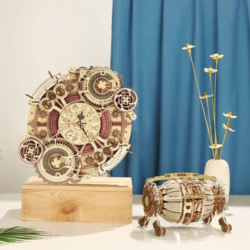 ROKR Time Art Series Wooden Puzzles