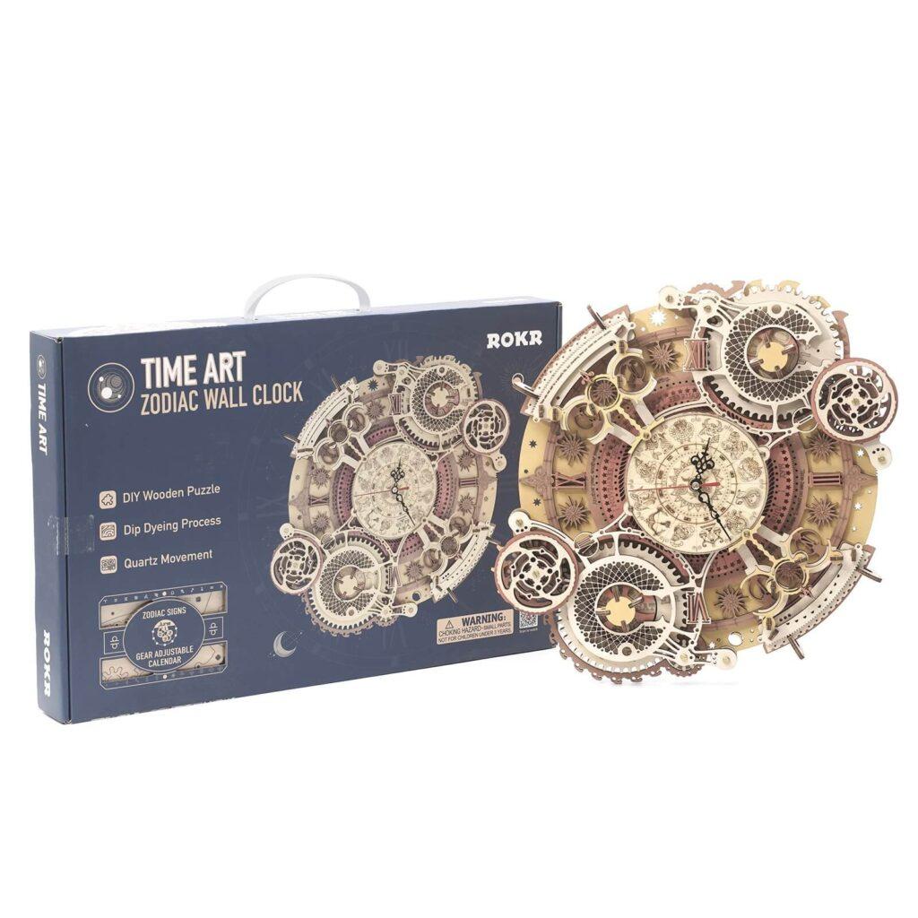 Zodiac Wall Clock by ROKR box