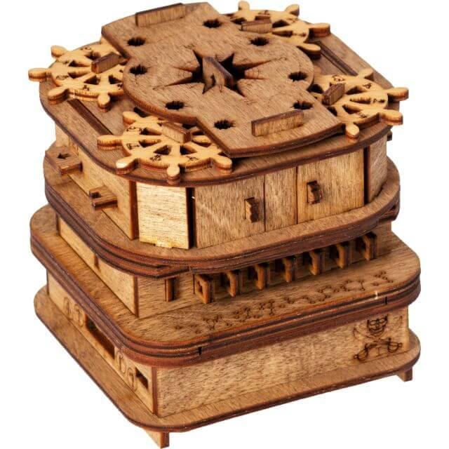 Cluebox Davy Jones Locker Puzzle Box