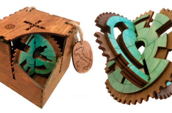 Gearly 3D Gear Labyrinth Puzzle by No Way Puzzle