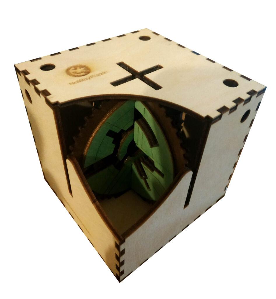 Gearly Puzzle Box Prototype