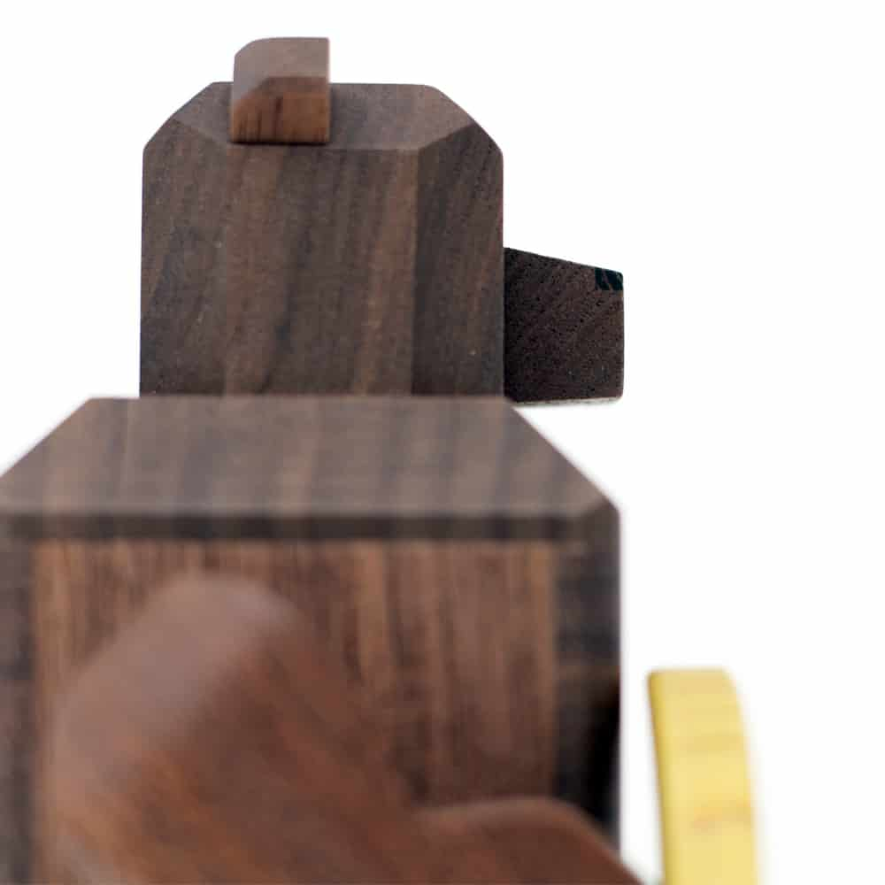 Karakuri Moon and Bear Puzzle Box