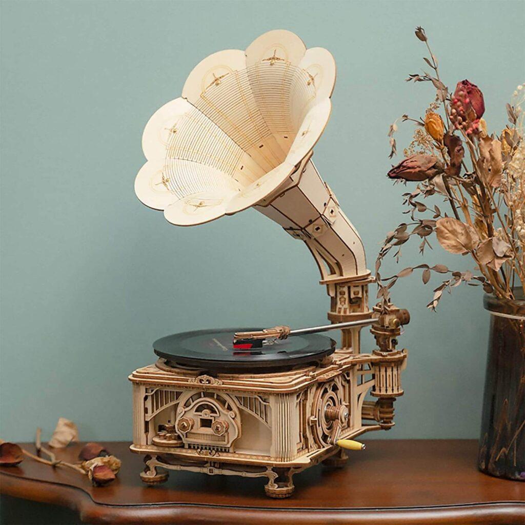 ROKR Gramophone DIY Wooden 3D Puzzles