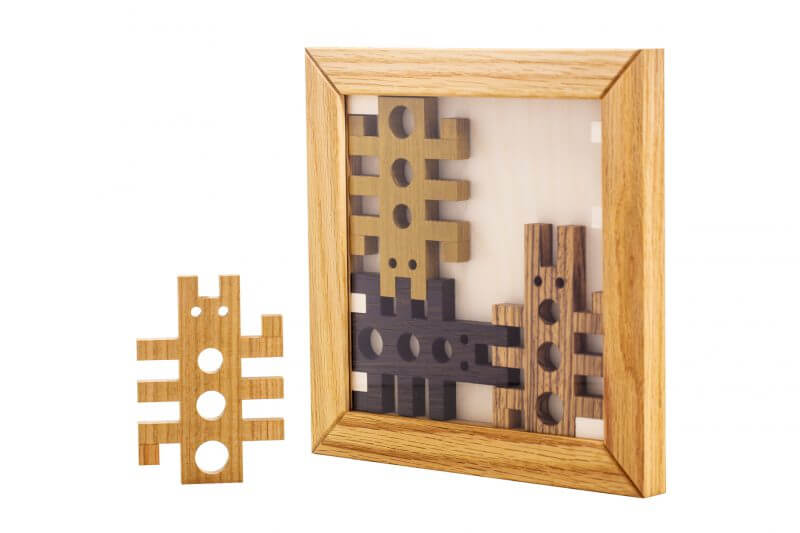 Bugs Puzzle by Pelikan Puzzles Wall Decor