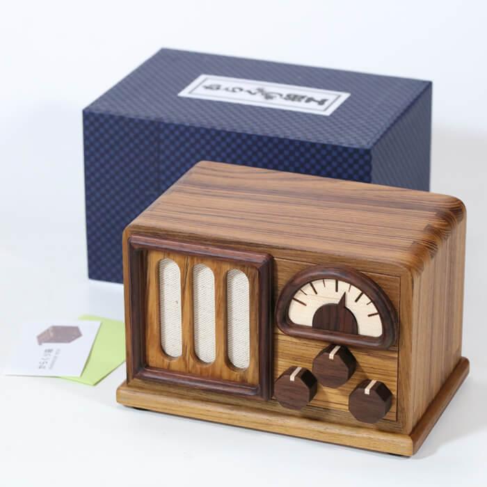 Karakuri Bad Radio Puzzle Box what in box