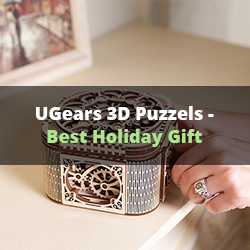 Ugears Puzzle Gift